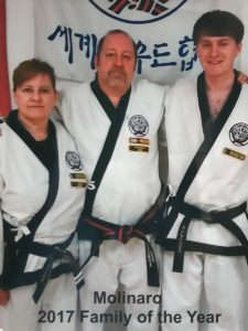 Molinaro 2017 Family of the Year | Tang Soo Do of Central New York | Little Falls NY | Mohawk Valley Today