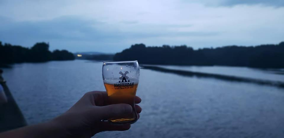 Amsterdam Craft Beer Fest Glass   Amsterdam NY   Mohawk Valley Today