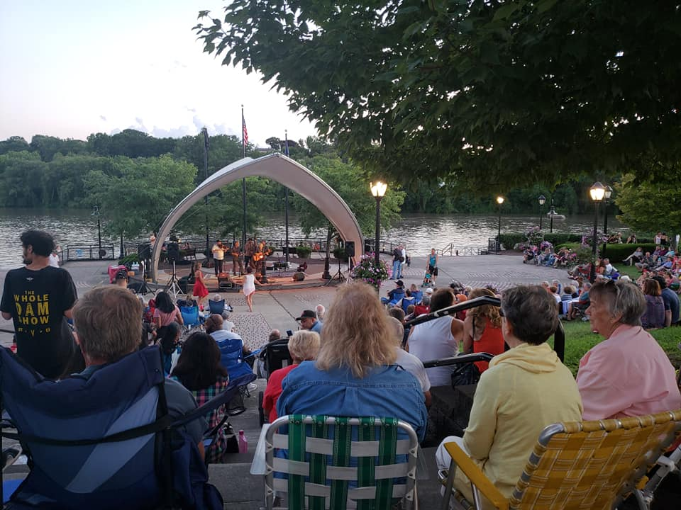 Amsterdam Riverfest Band Shell Amsterdam NY   Mohawk Valley Today