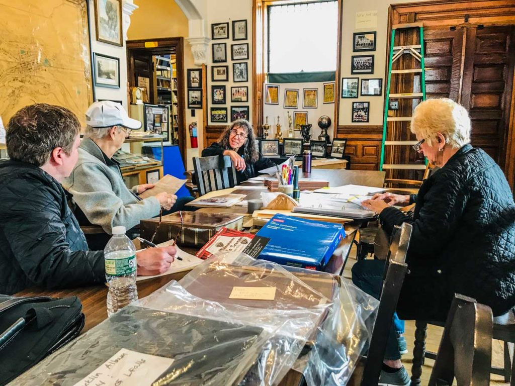 Little Falls Historical Society members working on new exhibits | Mohawk Valley Today