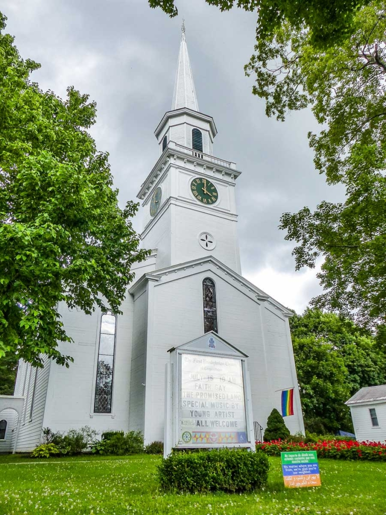 Church in Cooperstown NY by Stilfehler