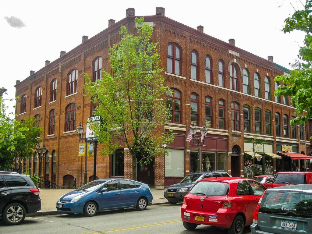 Ford Block Oneonta NY by Ruhrfisch